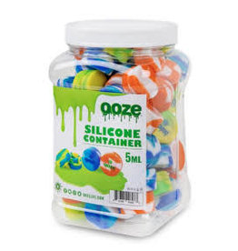 OOZE Ooze Silicone Containers Tie Dye - 5ml - box of 75ct