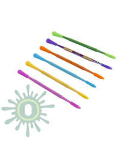 OOZE Dab Tool + Silicone Sleeve - Assorted colors - box of 30ct single