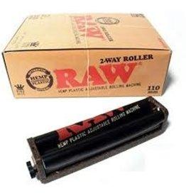 RAW RAW BLACK HEMP PLASTIC ROLLING MACHINE 110MM
