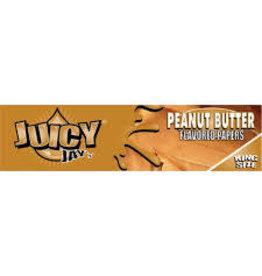 JUICY JUICY JAYS KING SIZE PEANUT BUTTER