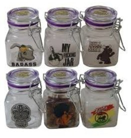 JUICY Juicy jars glass clear larg
