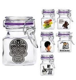 JUICY Juicy jars glass clear small
