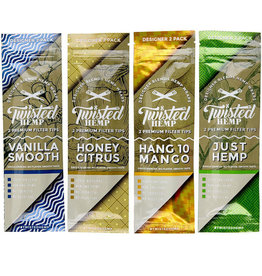 TWISTED HEMP Twisted Hemp Wraps -Vanilla Smooth