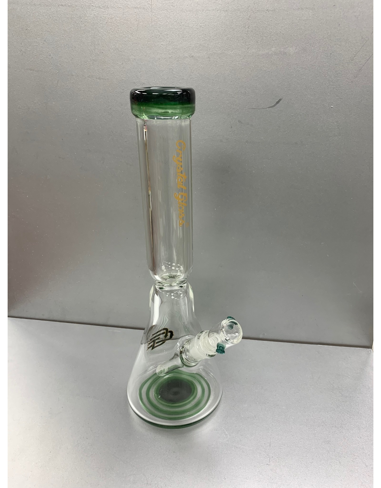 "CRYSTAL GLASS CRYSTAL GLASS 16 "" water pipe 9mm C2188"