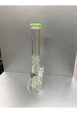 "CRYSTAL GLASS 18""water pipe matrix PERC c2084"