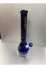"CRYSTAL GLASS Crystal glass 12""water pipe c2167"
