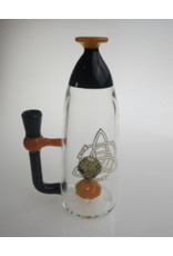 "CRYSTAL GLASS Crystal glass 5""dap rig C1311"