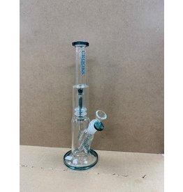 "Crooks glass Crooks glass 13""matrix PERC water pipe C1111"