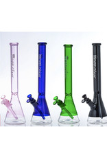 """CRYSTAL GLASS Crystal glass 15"""" water pipe c2166"""