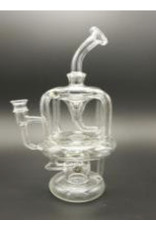 """CRYSTAL GLASS Crystal glass 9""""recycling rig C6062"""