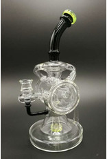 """CRYSTAL GLASS Crystal glass 7""""recycling rig C6064"""