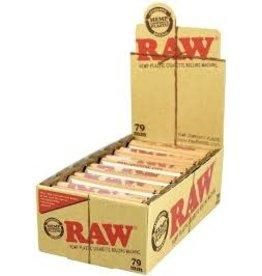 RAW RAW BROWN HEMP PLASTIC ROLLING MACHINE 79MM