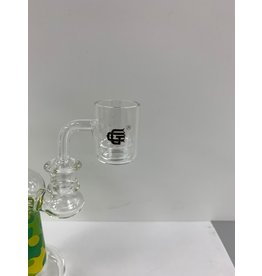 CRYSTAL GLASS BANGER C038-2  MALE 14MM