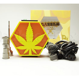 Dabber Box Enail - Dabber Box 3D Printed - Leaf Design