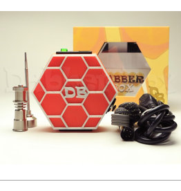 Dabber Box Enail - Dabber Box 3D Printed - Honeycomb