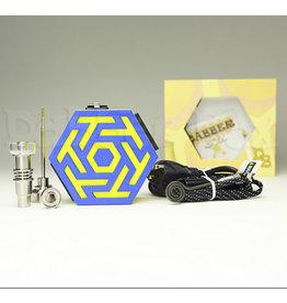 Dabber Box Enail - 3D Printed Dabber Box - T Pattern Spiral