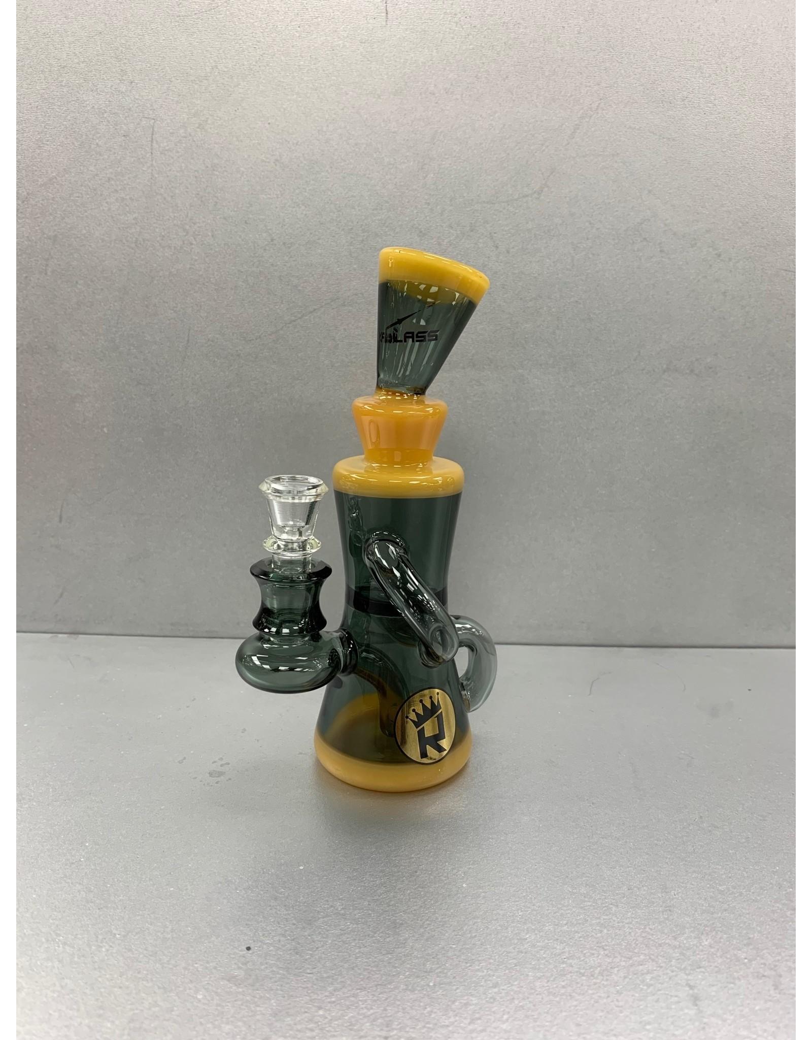 """ROYAL GLASS DAB RIG 7"""" C6182"""