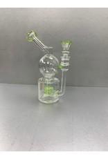 "CRYSTAL GLASS DAB RIG 7"" C6124"