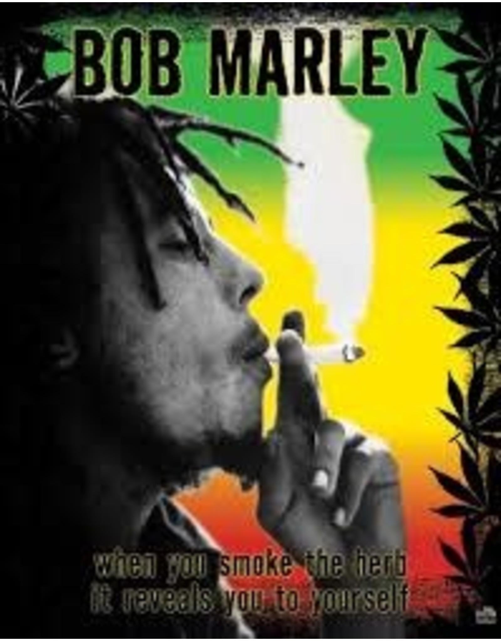 BOB MARLEY SMOKE FLAG