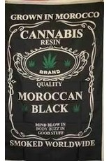 CANNABIS MAROCCAN BLACK FLAG