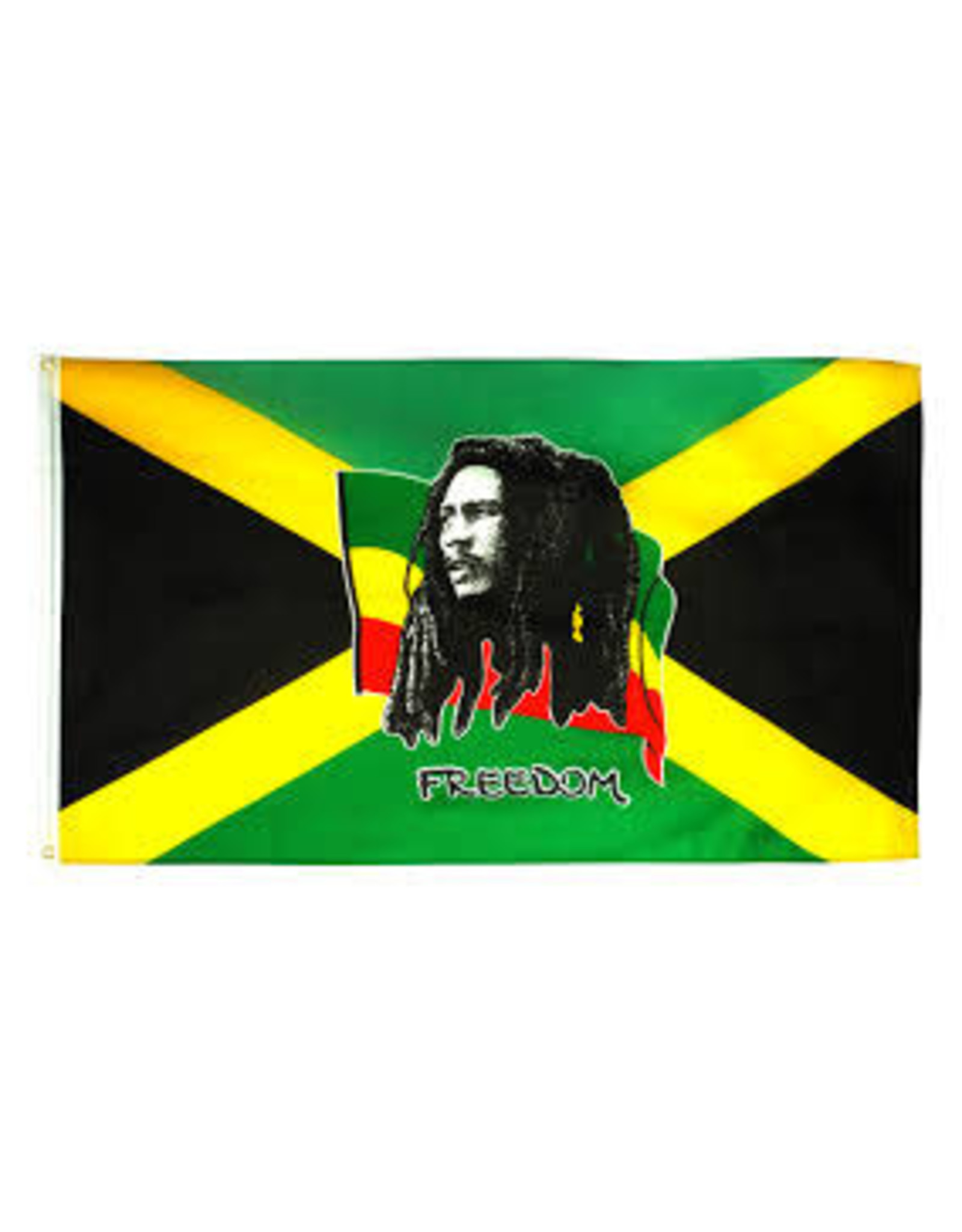 BOB MARLEY FREEDOM FLAG