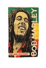 BOB MARLEY ONE LOVE ONE HEART FLAG