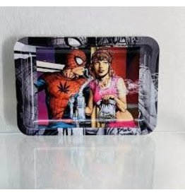 ROLLING Rolling tray Spider-Man