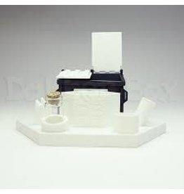 Dabber Box Dab station 3D PRINTED WHITE