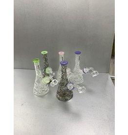 "CRYSTAL GLASS CRYSTAL GLASS 5.9"" DAP RIG C6257"