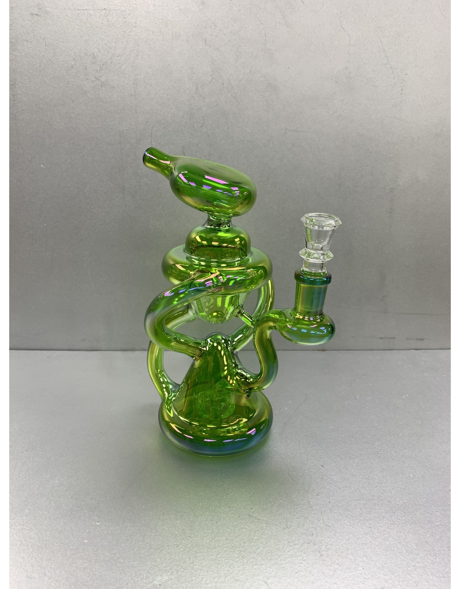 CRYSTAL GLASS ALIEN RECYCLE WATER PIPE