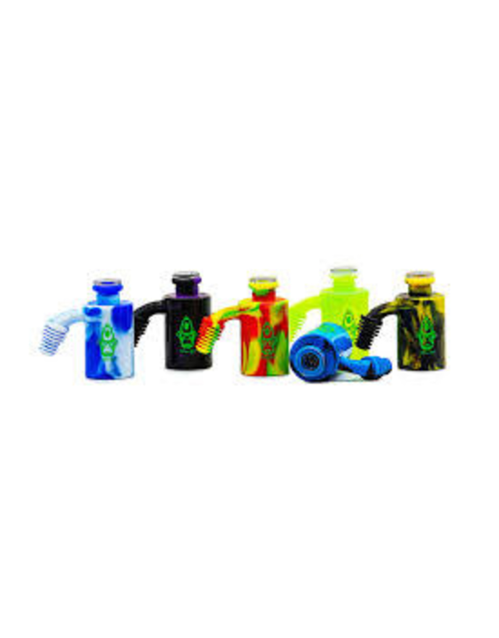 Alien Ape Silicone Ash Catcher/Reclaimer/Storage Jar(12pcs/Display)