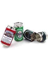 4 Parts Zinc Large Beer Can Grinder Display (6pcs)