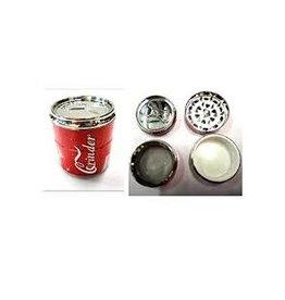 4 Parts 1.5'' Plastic Cans Grinder 24per Display