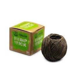 Afghan Hemp Hemp Wick 100 ft Ball