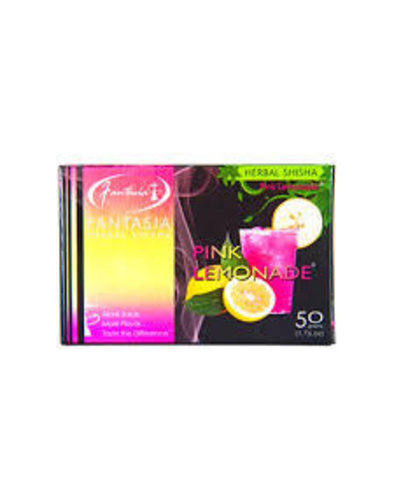 50g Fantasia Herbal Shisha Pink Lemonade