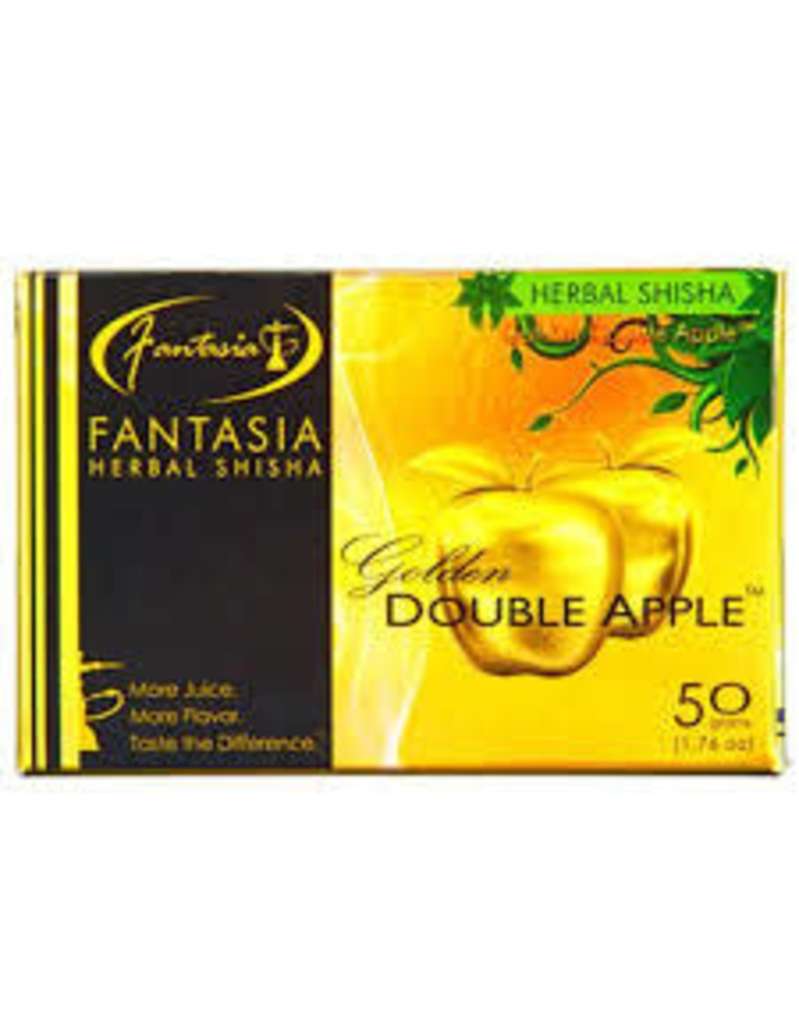 50g Fantasia Herbal Shisha Golden Double Apple