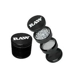 RAW RAW LIFE 4 PART GRINDER-BLACK