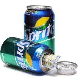 Safe Can, Sprite Soda Can.