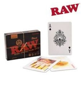 RAW RAW BLACK PLAYING CARDS, SOLD INDIVIDUALLY