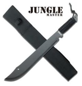 JUNGLEMASTER MACHETE WITH CORD WRAPPED HANDLE