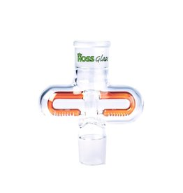 HOSS GLASS HOSS DOUBLE SIDED  INLINE PERC YH908