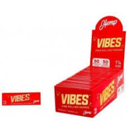 VIBES VIBES HEMP ROLLING PAPERS- 50PK 1/14