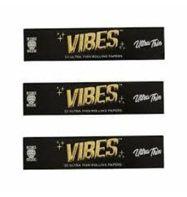 VIBES VIBES ULTRA THIN ROLLING PAPER-33 PK KING SIZE SLIM