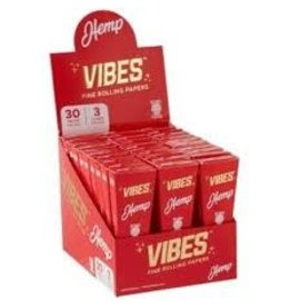 VIBES VIBES HEMP CONES-3PK KING SIZE