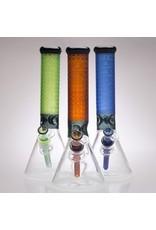 """CHEECH GLASS CHEECH GLASS CH-013 14"""" COLOR  SANDBLAST BEAKER"""