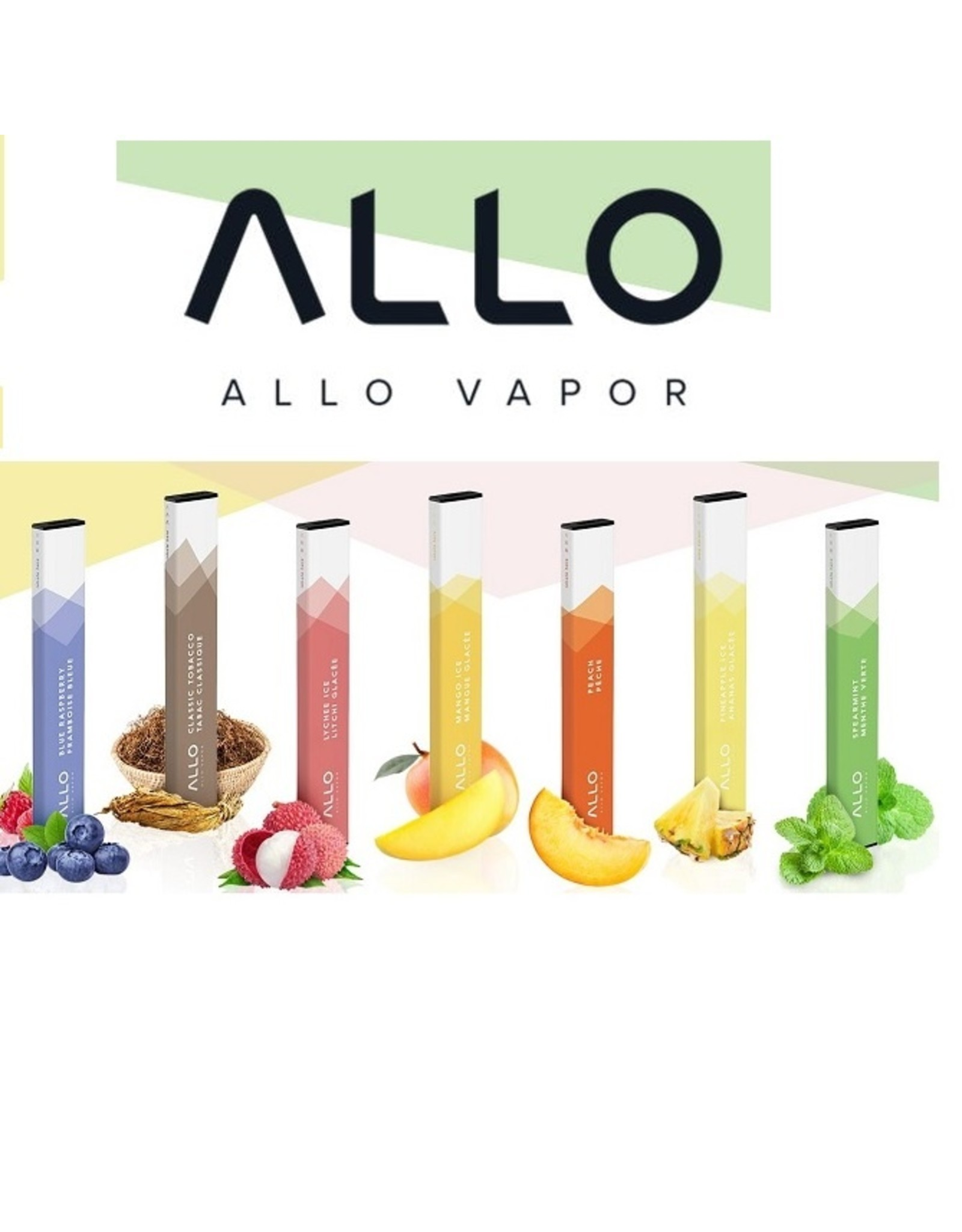 ALLO ALLO DISPOSIBLE VAPING DEVICE 300 PAFF