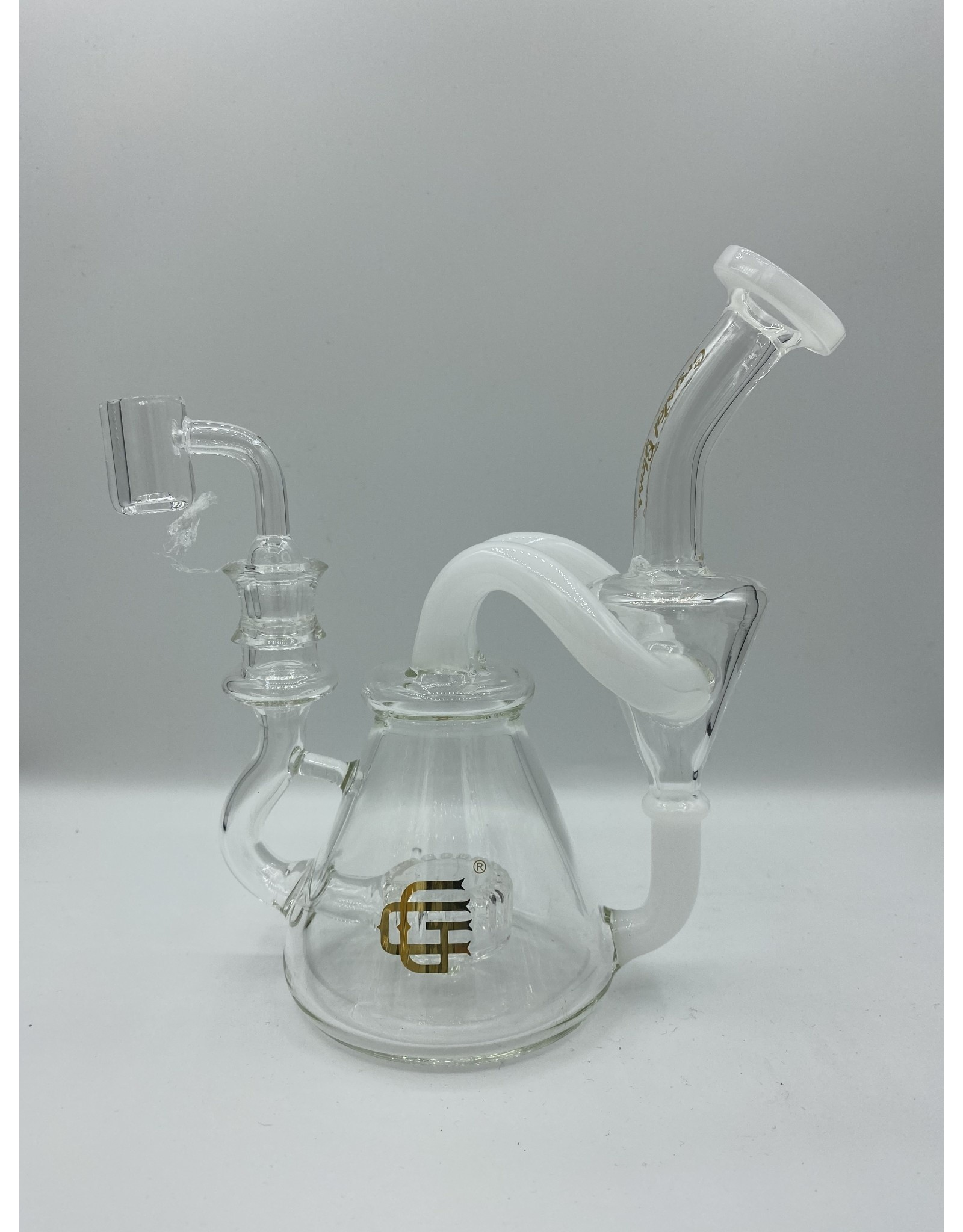 CRYSTAL GLASS CRYSTAL GLASS C6175 4.3'' DAP RIG