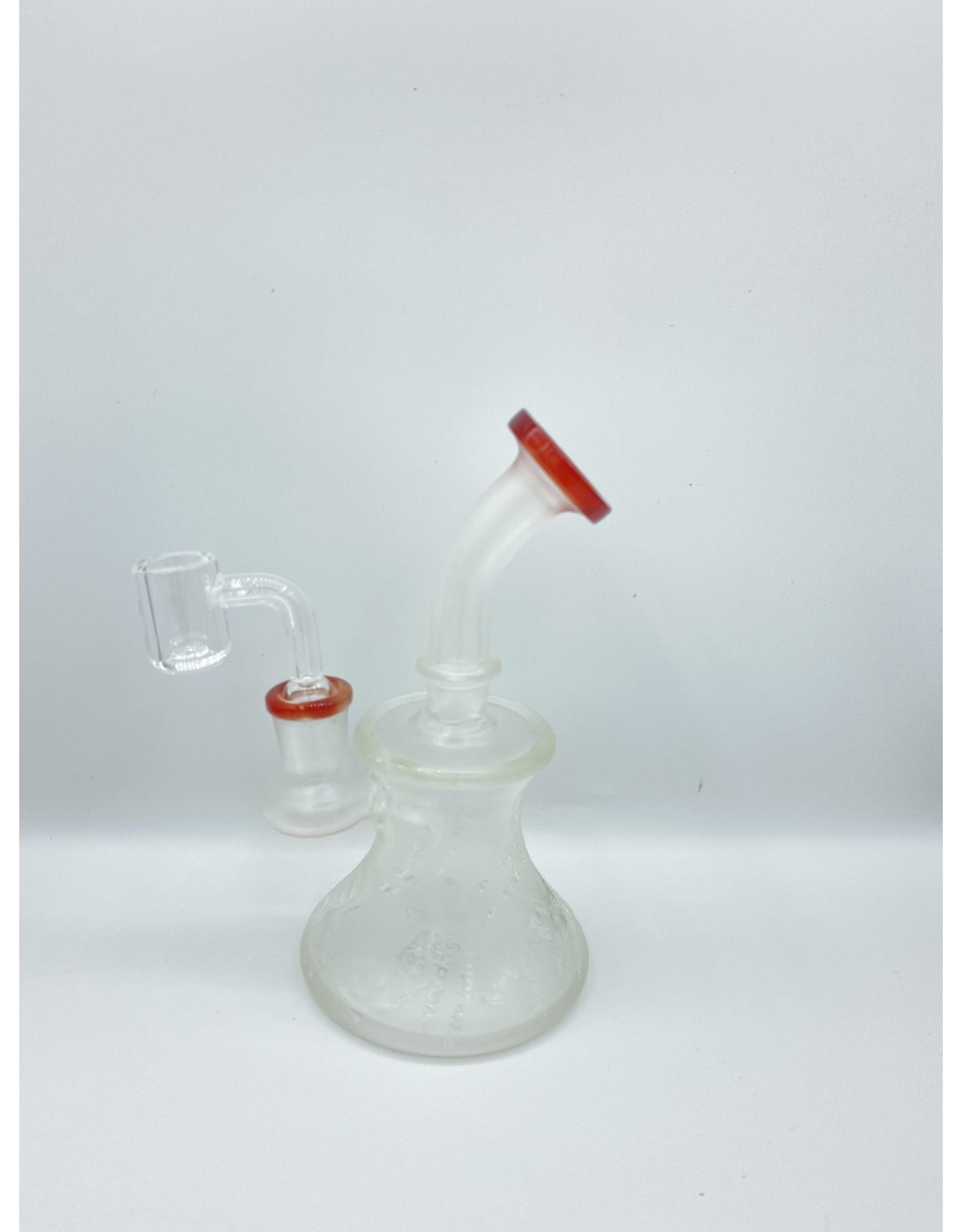 CRYSTAL GLASS CRYSTAL GLASS C6205-1 4.2'' DAP RIG