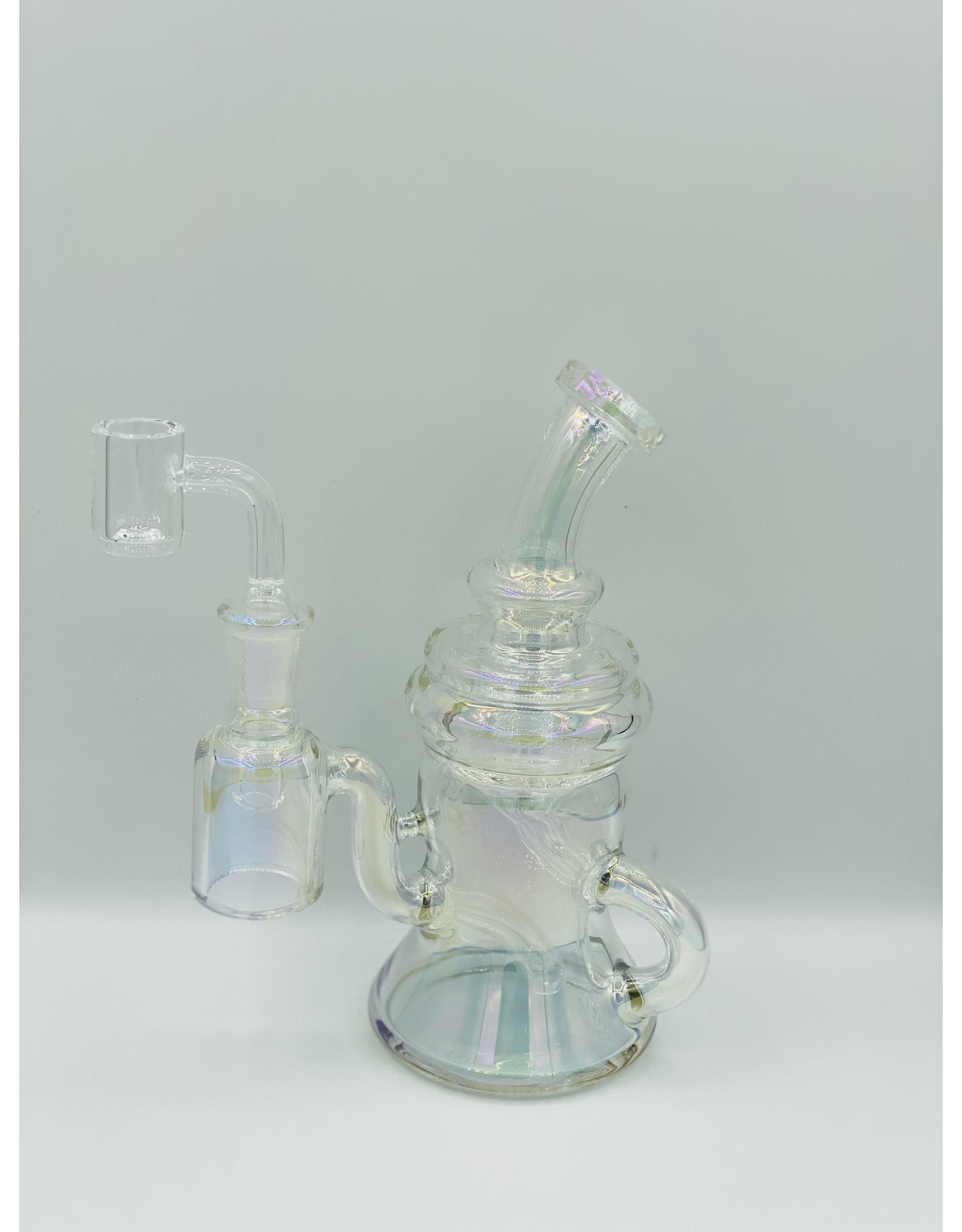 "CRYSTAL GLASS CRYSTAL GLASS  C622  6.3"" DAP RIG"