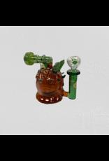 CRYSTAL GLASS COSMAUNOT DAB RIG